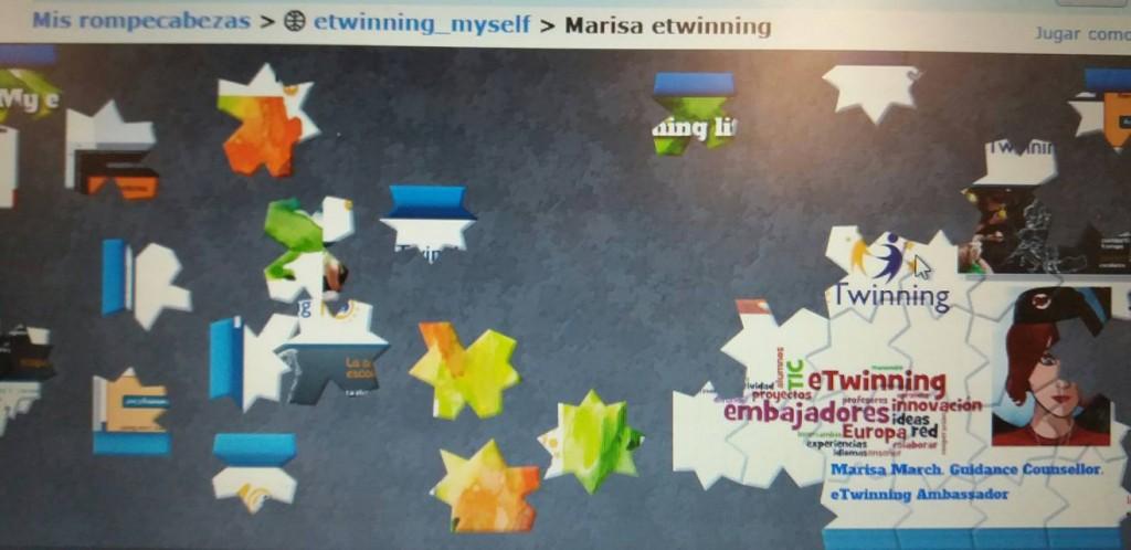 Ejemplo de rompecabezas creado en jigsawplanet.com