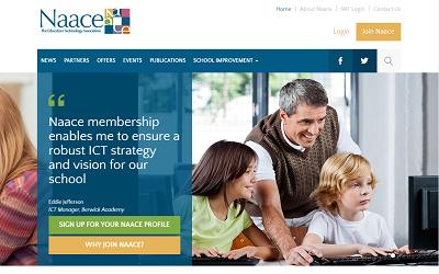 Sitio web de NAACE
