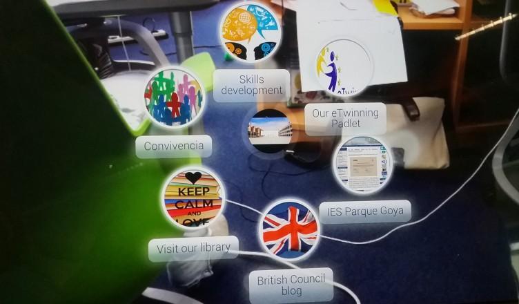 Tarjeta virtual con varios recursos