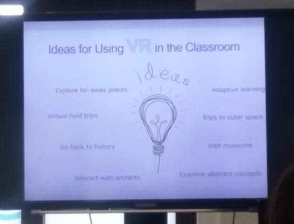 Ideas para utilizar RV en el aula