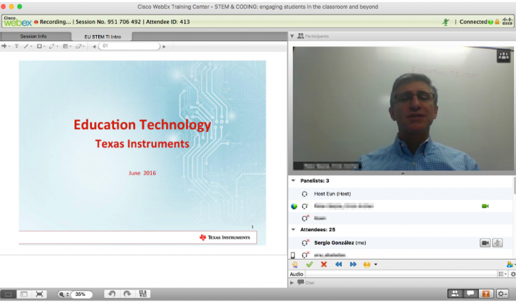 Captura Webinar Texas Instruments