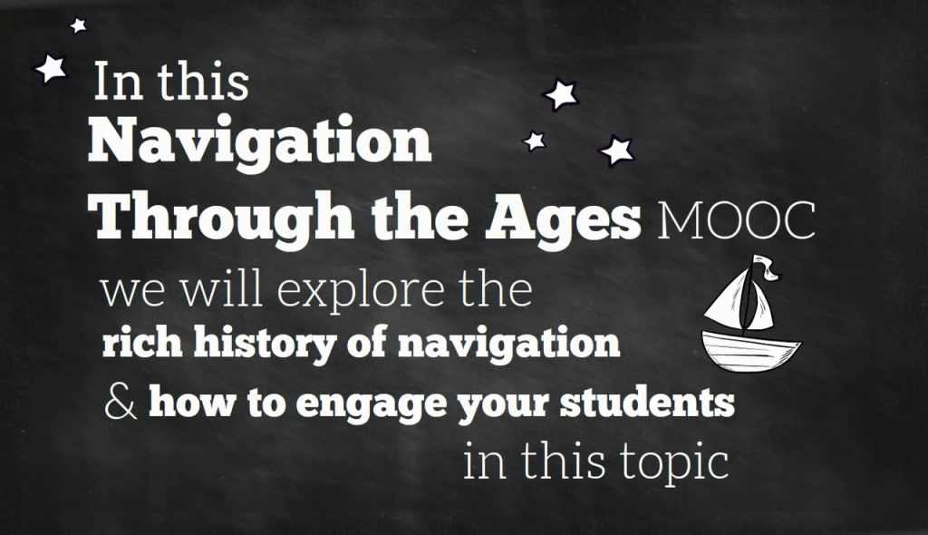 Captura del vídeo promocional del MOOC Navigation Through the Ages