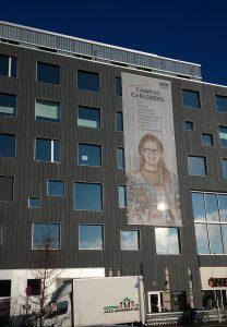 Fachada del Campus Carslberg