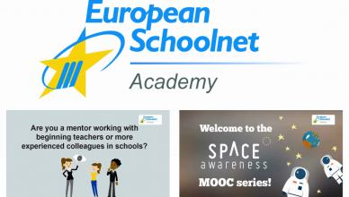 Composición con capturas de los vídeos promocionales de los MOOCs