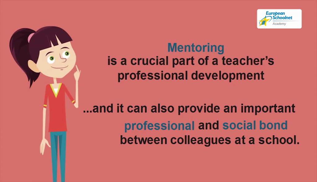 Captura vídeo promocional MOOC Mentoring in Schools