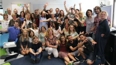 Foto de grupo del taller Enhancing Creativity and Innovation in my Classroom