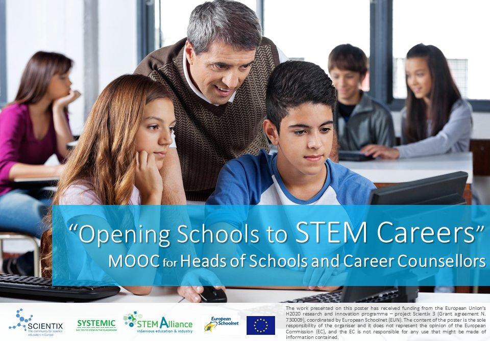 Portada del MOOC Opening Schools to STEM Careers