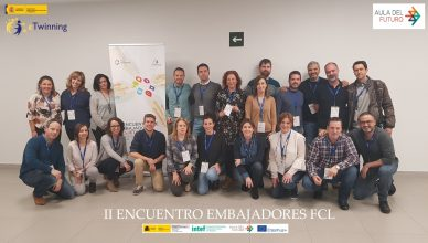 Foto de grupo II encuentro de embajadores FCL