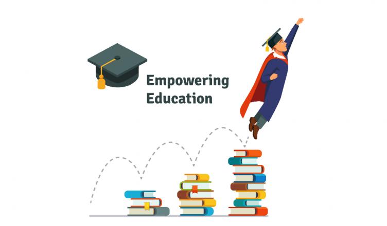 Potenciar la educación creado por Iconicbestiary - Freepik.com