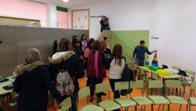 Funcionarios en prácticas en el Aula del Futuro del CEIP Ciudad de Ceuta