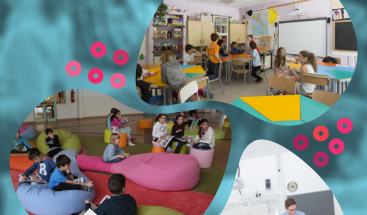 Portada de la publicación Guidelines on Exploring and Adapting Learning Spaces in Schools