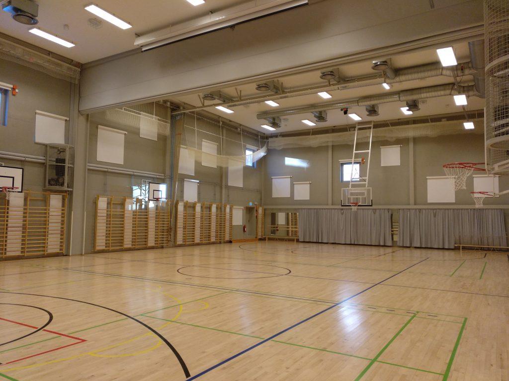 Instalaciones deportivas interiores del centro