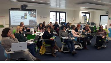 Participantes en el taller: escucha activa y aplicación inmediata