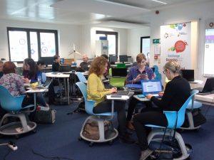 Imagen de una se las sesiones del curso