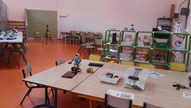 Algunos de los espacios del Aula del Futuro del CEIP Ciudad de Ceuta