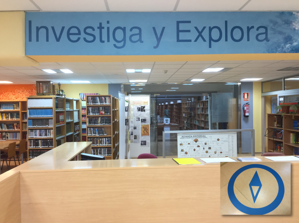 Zona Investiga y Explora con su logotipo