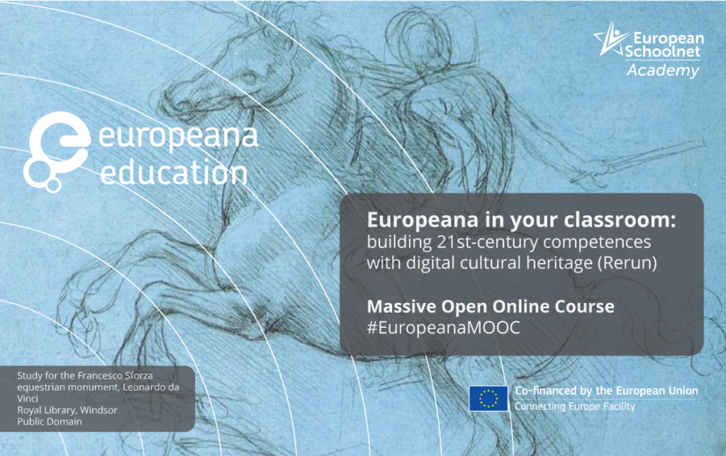 MOOC Europeana in your classroom: building 21st-century competences with digital cultural heritage (Rerun)