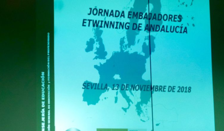 Presentación de las I Jornadas de Embajadores eTwinning de Andalucía