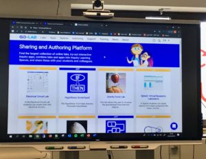 Portal web de Go-Lab